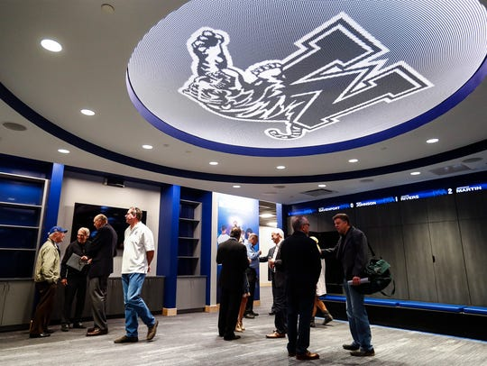 Donors get their first look at the University of Memphis'