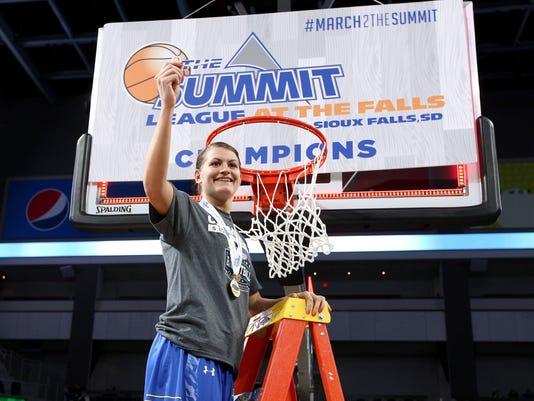 South Dakota vs South Dakota State Summit League Basketball