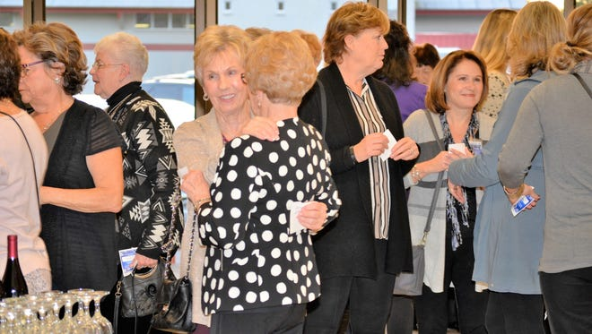 Visitors at the 2016 enjoyed the Santiam Hospital Auxiliary fall fashion show in 2016.