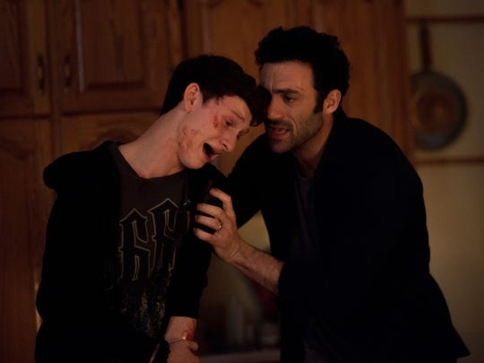 Kevin Copeland (Morgan Spector, right) tries to comfort