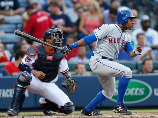 Mets Braves Baseball (2)