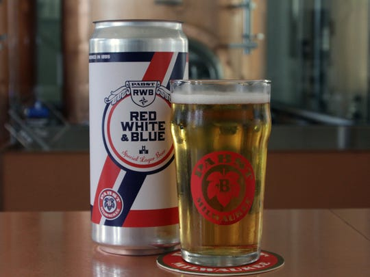 Red White & Blue, a low-price staple on Milwaukee's beer scene back in the day, is back (this weekend, anyway).