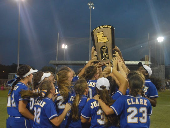 """LaSalle earned the """"Diamond Sweep"""" as one of two Louisiana"""