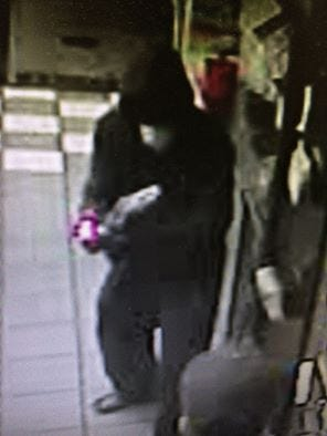 Police say this man robbed a Dunkin' Donuts employee in Bellmawr on Wednesday.