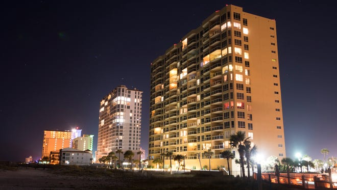 Under an Escambia County ordinance, all beachfront structures are required to have turtle-friendly lighting before the 2018 nesting season starts in May.