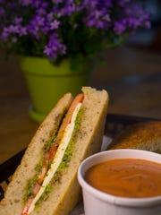 Garden of Eatin' Cafe at Gardener's Supply in Williston: