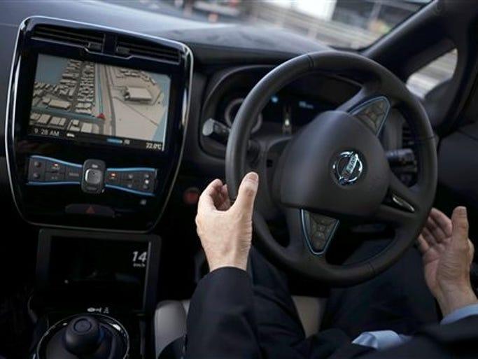 Nissan Tests Self Driving Car
