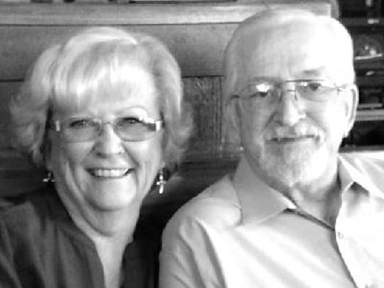 Ellie and Ann Driver 60th anniversary