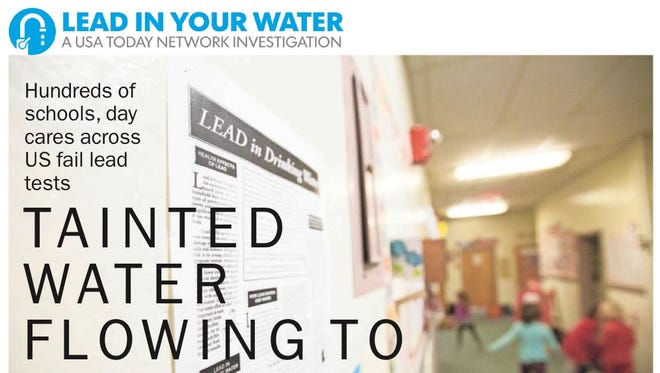 USA Today Network investigative report: Lead in your water
