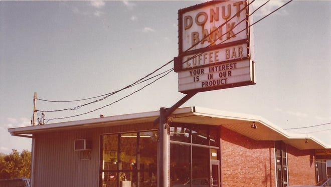 An early look at the first Donut Bank in Evansville.