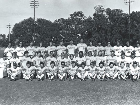 FSU baseball 1974 team