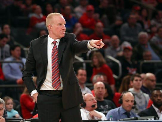 St. John's Red Storm head coach Chris Mullin.