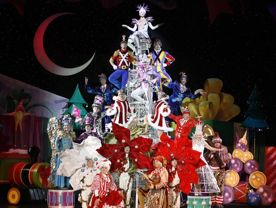 "The concept behind ""Cirque Dreams Holidaze"" is based"