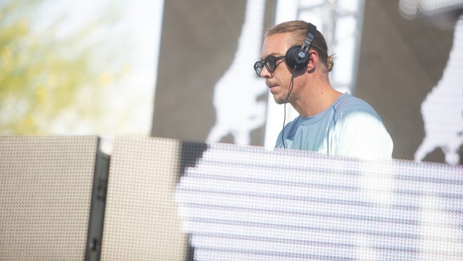 EDM DJ Diplo performed to a packed house of partygoers at Talking Stick Resort on Saturday, July 7, 2018, in Scottsdale.