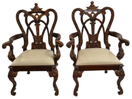 Levines Furniture Furniture Design Blog 100 Melrose Outdoor Furniture Pr Klismos Chairs Robsjo