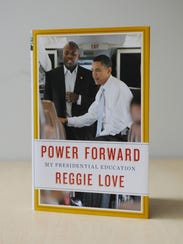 "Reggie Love's new book, ""Power Forward: My Presidential"