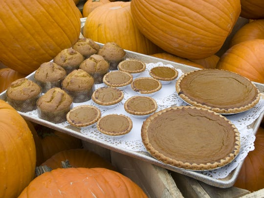 Baked goods made with pumpkin at Delicious Orchards ......Bob Bielk/Asbury Park Press-9/28/11-Colts Neck