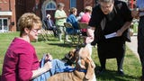 A Blessing of the Animals at St. Peter's Lutheran Church in North York.