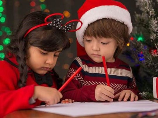 Letters to Santa need to be received by the United States Postal Service by Dec. 15, 2016.