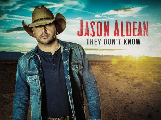 """Jason Aldean's seventh album, """"They Don't Know."""" Aldean will perform at the Ford Center Saturday."""