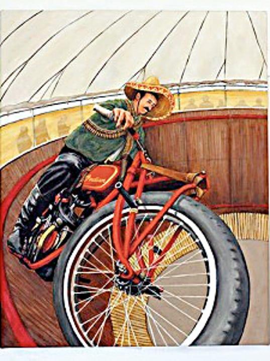 """Courtesy Photo   Lois Duffy's """"Pancho Villa Rides Again."""""""