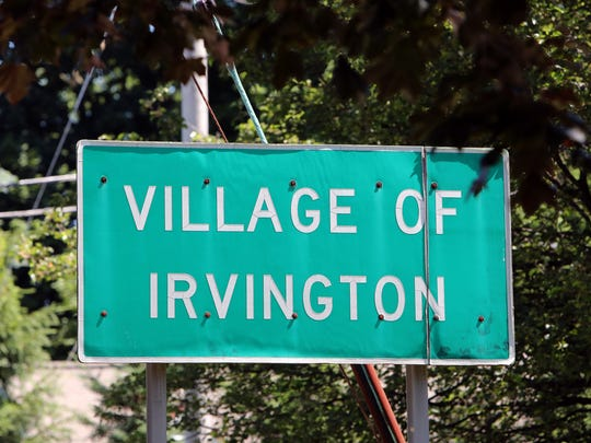 "A ""Village of Irvington"" sign on Route 9 June 26, 2018."