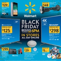 Walmart's Black Friday ad is here, and it's bargain time
