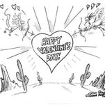 Steve Benson Valentine's Day coloring contest
