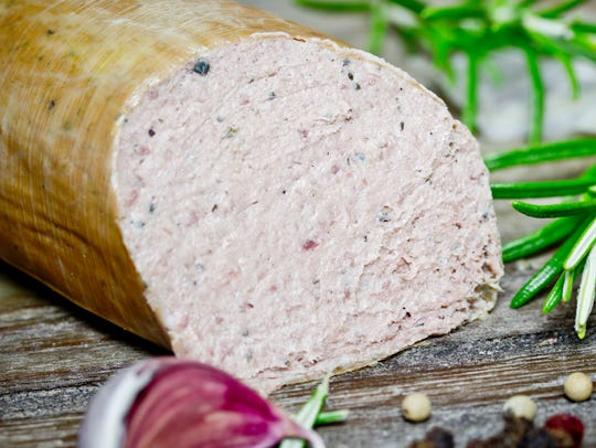 Leberwurst, or liverwurst, is a traditional Christmas