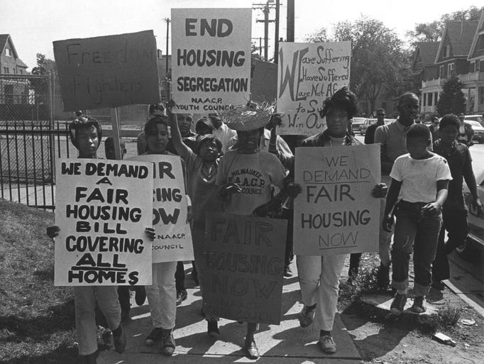 Image result for milwaukee open housing 1967