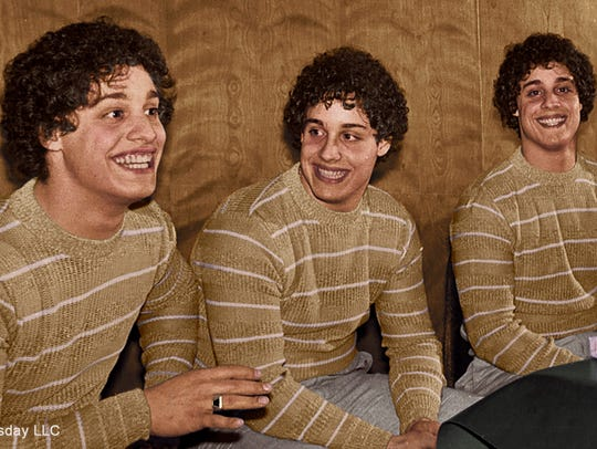 Eddy, David and Bobby gained nationwide attention after discovering they were triplets at age 19.