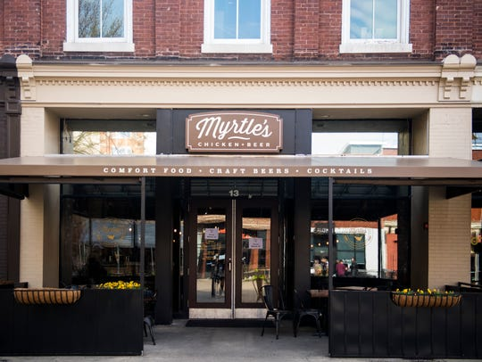 Myrtle's Chicken and Beer, a new restaurant in downtown Knoxville's Market Square, opened Monday, March 12.