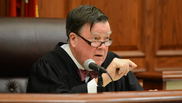 Judge C. Creed McGinley denied a motion of recusal