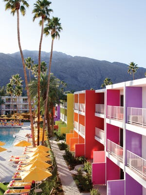 The pool at The Saguaro in Palm Springs offers a festive setting for romance. Over the summer, the Saguaro will enhance its weekend poolside offerings with DJ's, outdoor dining, and an expanded menu of tropical and tasty cocktails.