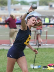 Hartland's Lindsey Strutz had top-three performances