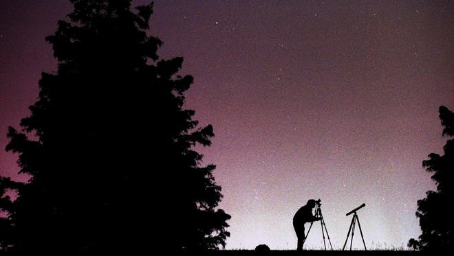 Watch for meteors during a Stars in the Night Sky event at Alley Spring on July 29.
