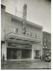 Chambersburg's historic Capitol Theatre as it appeared