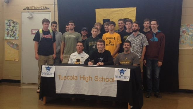 Tuscola senior Anthony Westhusing has signed to play college basketball for Luther (Iowa).