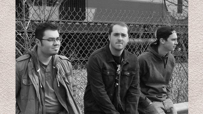"""Brian DeStoop and the Old Haunts released their first album, """"From One Life To the Next,"""" in the spring. (From left): Matt DeStoop, Brian DeStoop and Peter Harris all attended Holbrook schools."""