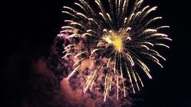 Dodge City officials and staff of the planning committee for the 4th of July fireworks display announced the 2020 display has been canceled. PHOTO BY CAMERON CLARK/USATNSYNDICATION