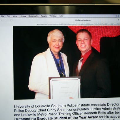 The Kentucky Law Enforcement magazine website shows