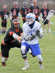 Carter McCormick of Horseheads in action against Union-Endicott