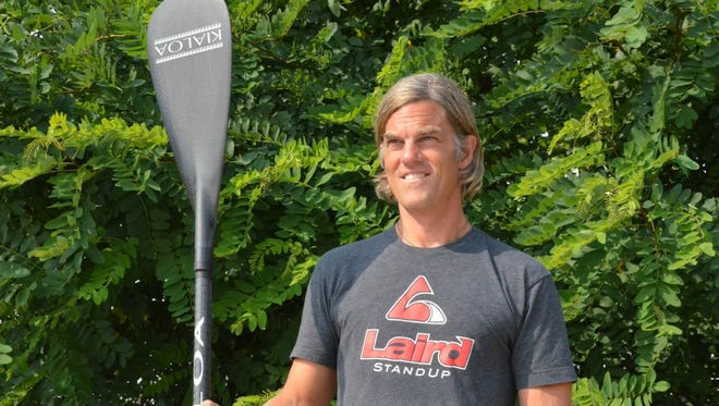 Russ Scully of Burlington is co-founder of the Stand Up for the Lake paddleboarding event set to take place Saturday.