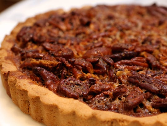 The pecan pie at By The Way Bakery, a gluten and dairy