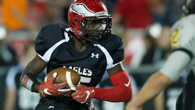 Degerrick Lee has rushed for 2,149 yards and 22 touchdowns in his first season as a starter.