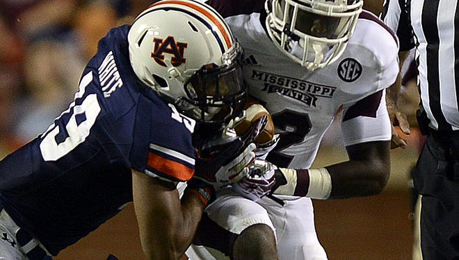 Auburn defensive back Ryan White has agreed to sign with the Green Bay Packers as an undrafted free agent. (Montgomery Advertiser, Amanda Sowards)