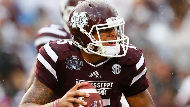 For the second consecutive week, Mississippi State's Dak Prescott leads the Heisman Survey.
