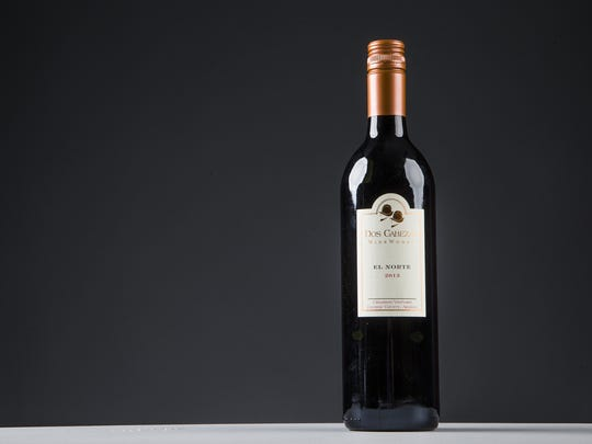 This is the winner of GROWER'S CUP BEST RED, Dos Cabezas WineWorks, 2013 El Norte of the 2016 Arizona Republic Wine Competition, Monday, December 12, 2016.
