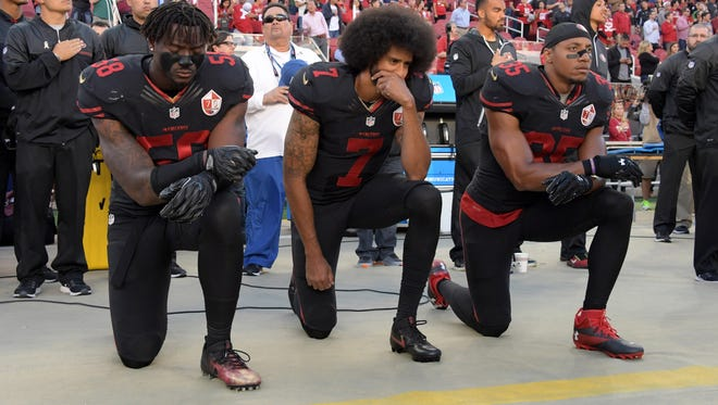 Love it or hate it, Kaepernick became a national (and perhaps global) figure for his protest of the national anthem in response to civil right inequities.