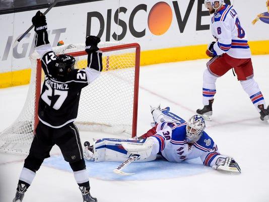 Stanley Cup Rangers Kings Hockey (2)